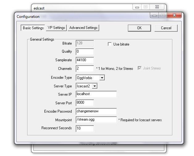 Edcast - Configuration