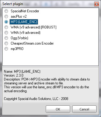 SAM - Select plugin